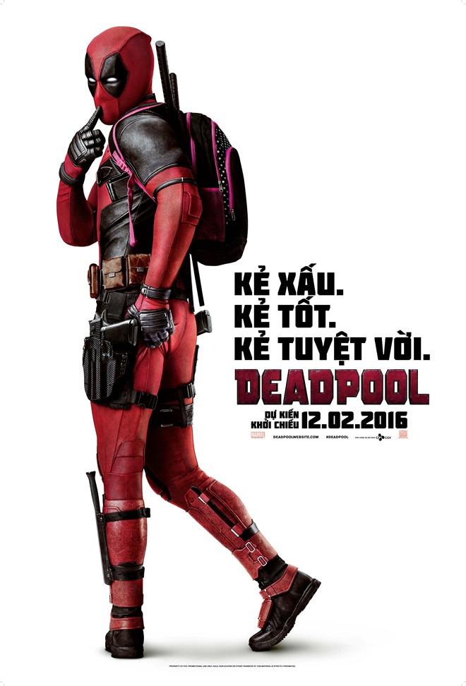 Bom tấn dị nhân Deadpool bị cấm chiếu tại Trung Quốc.
