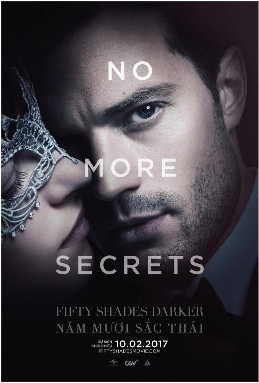Xem Phim Fifty Shades Darker - 50 Sắc thái đen Vietsub-HD Online