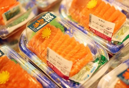 """Thưởng thức sushi 5k ở Aeon Mall khiến người Hà Nội """"phát cuồng"""""""
