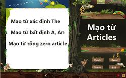 Mạo từ Articles