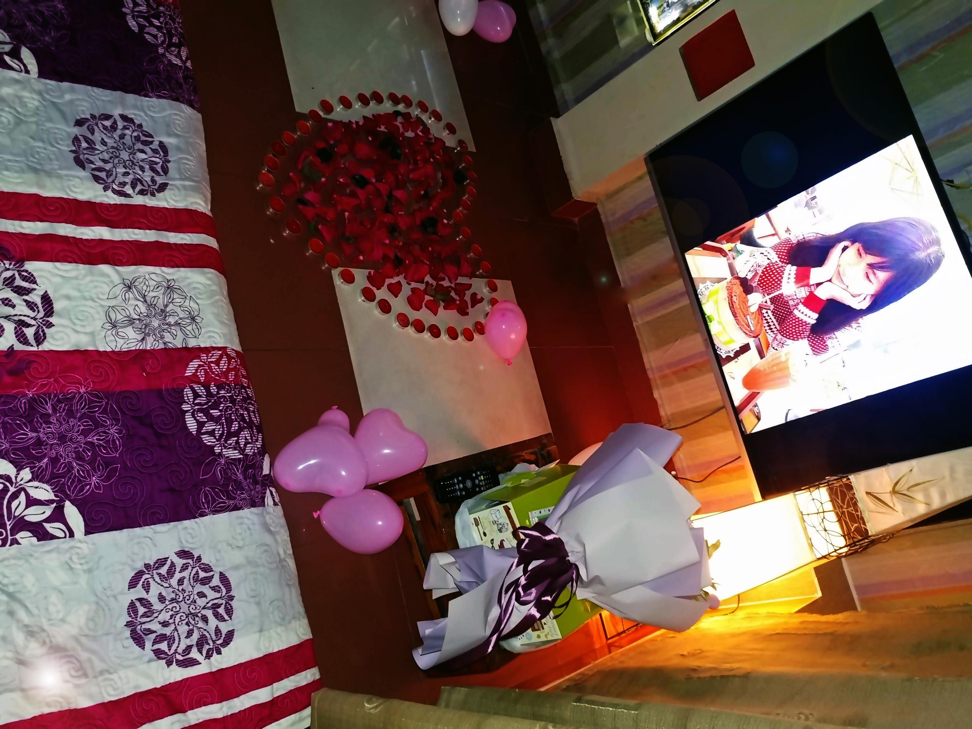 Tổ chức sinh nhật - Gói ROMANTIC